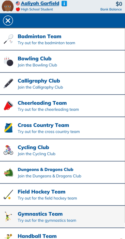 sports in bitlife